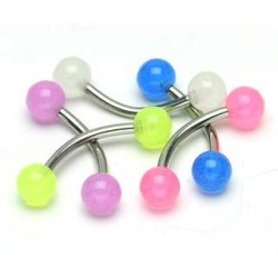 lot 5 piercing arcade UV 1.2 * 10 a boules