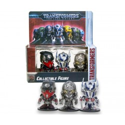pack de 3 mini figurine transformer