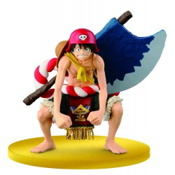 One Piece gold luffy