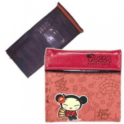 Portefeuille Pucca yakusa rouge