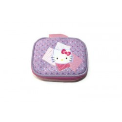 hello kitty pochette a maquillage rose