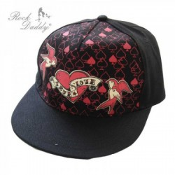 Casquette rock true love
