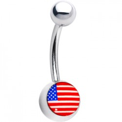 piercing nombril logo USA