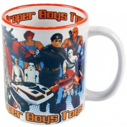 Mug retrogaming super heros
