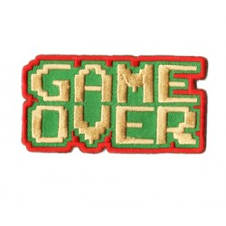 patch retrogaming Game over