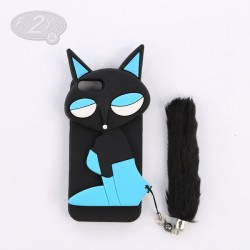coque iphone 5 miss kitty noire