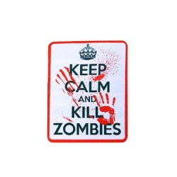 patch keep calm and kill zombies