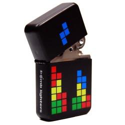 briquet retrogaming tétris