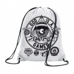 Sac gymnastique god is a gamer
