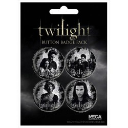 Twilight  set de 4  Badge n° 1