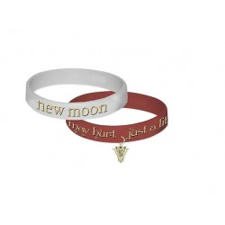 Twilight set de 2 bracelet pvc new moon