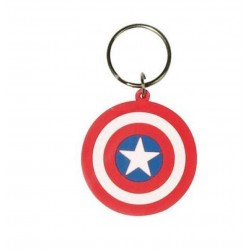 Porte clefs marvel comics capitaine america