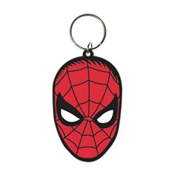 Porte clefs marvel comics spiderman visage