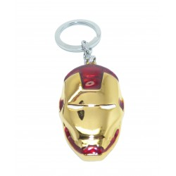 Porte clés metal casque Iron man