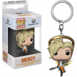 Funko Pop Porte-clés Overwatch  Mercy