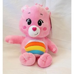 peluche Bisounours  gros farceur rose