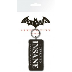 porte clé Batman Arkham City Certified Insane