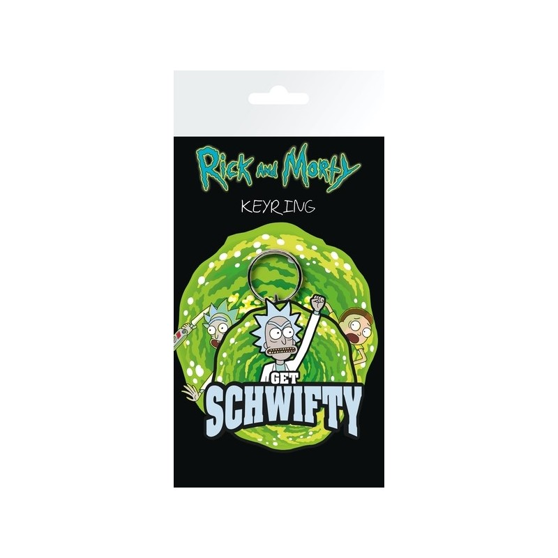 Porte-clés Rick and Morty Get Schwifty