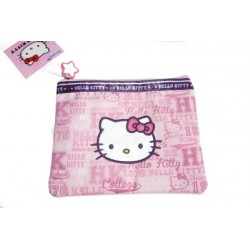 hello kitty pochette souple rose