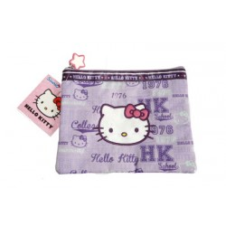 hello kitty pochette souple violette
