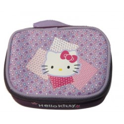 hello kitty pochette a maquillage violette