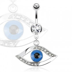 piercing nombril oeil egyptien