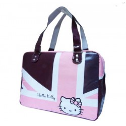 Hello Kitty sac porte document Olympics Violet