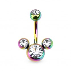 piercing nombril mickey essence