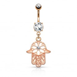 piercing nombril main de fatima champagne