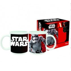 Mug star wars + 1 sous tasse 3d stormtrooper episode 7