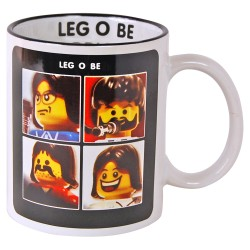 Mug parodique personnage brique Leg o be ( let it be )