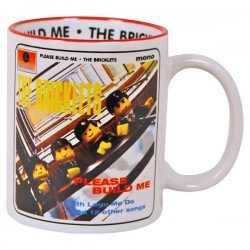 Mug parodique personnage brique Please Build Me